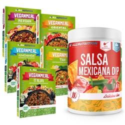5x Veganmeal Mix 280g + Salsa Mexicana Dip 1000g Gratis