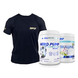 Hero Pump 420g + Citrulline 400g + T-Shirt Athletic Gratis
