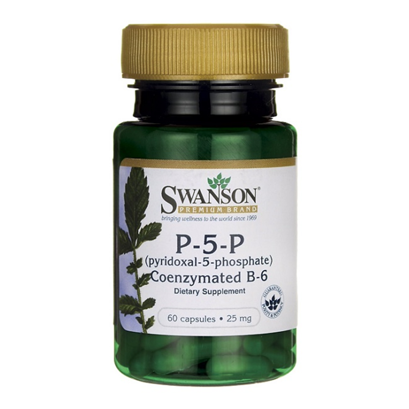 Swanson P-5-P (Pyridoxal-5-Phosphate) Coenzymated VitaminB-6