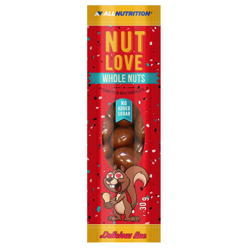 ALLNUTRITION Nutlove Wholenuts - Arachidy W Mlecznej Czekoladzie