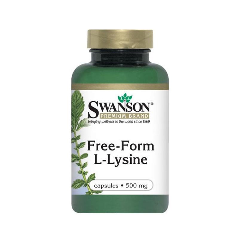 Swanson Lizyna (Free-Form L-Lysine)
