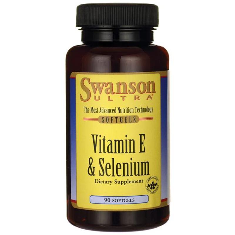 Swanson Vitamin E with Selenium