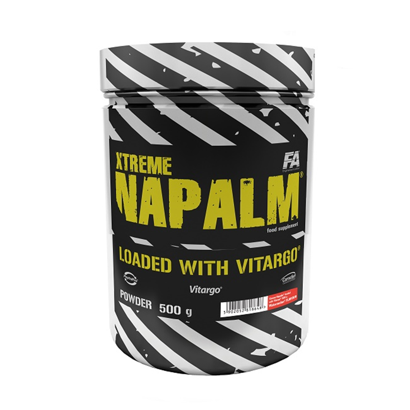Fitness Authority Xtreme Napalm Loaded with Vitargo