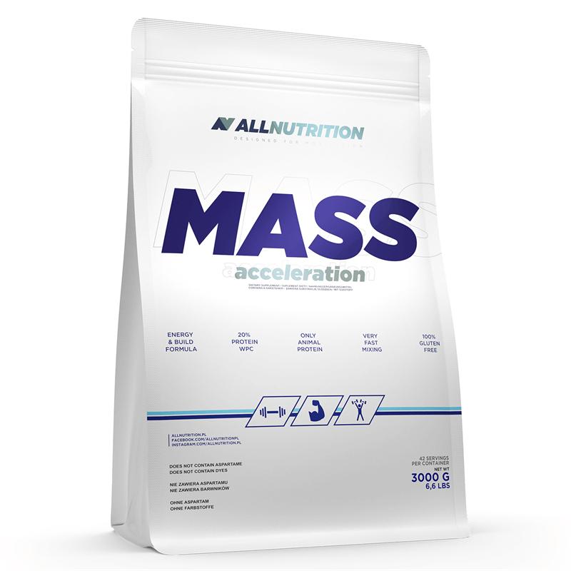 ALLNUTRITION Mass Acceleration