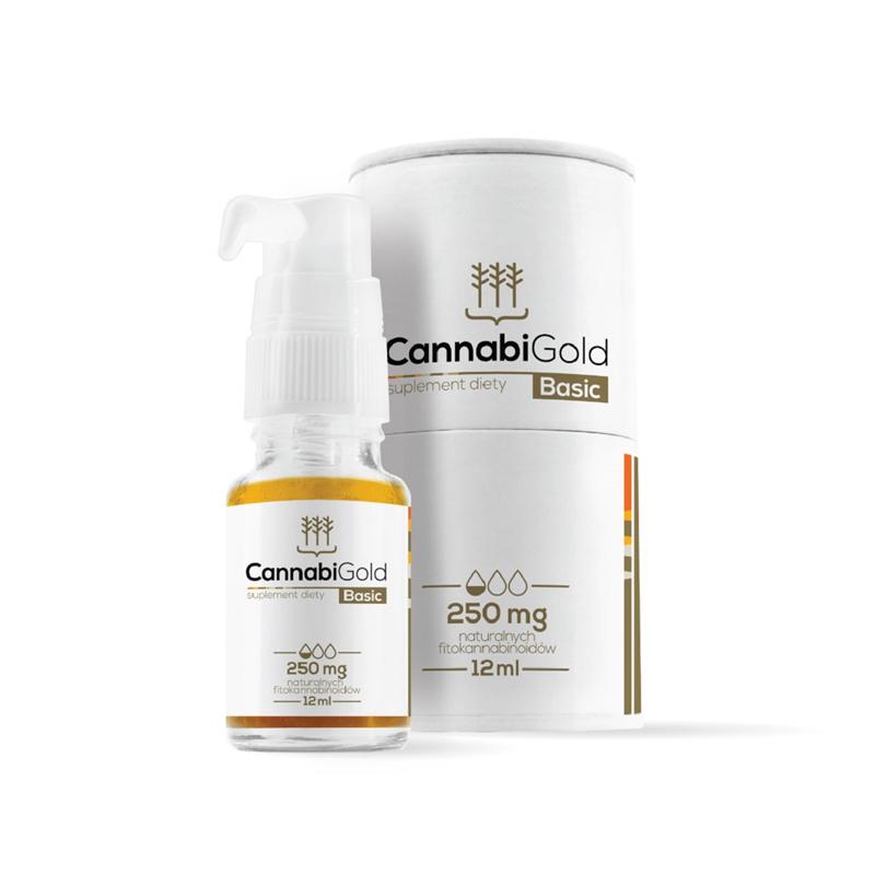 CannabiGold Olejek Basic 250 mg CBD