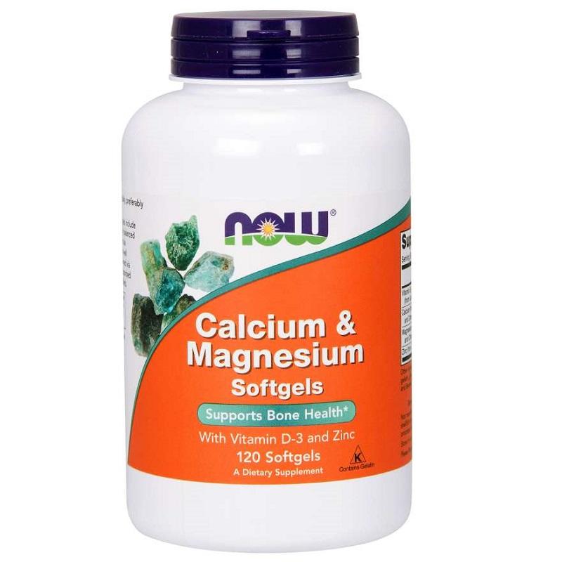 Now Calcium & Magnesium with Vitamin D and Zinc