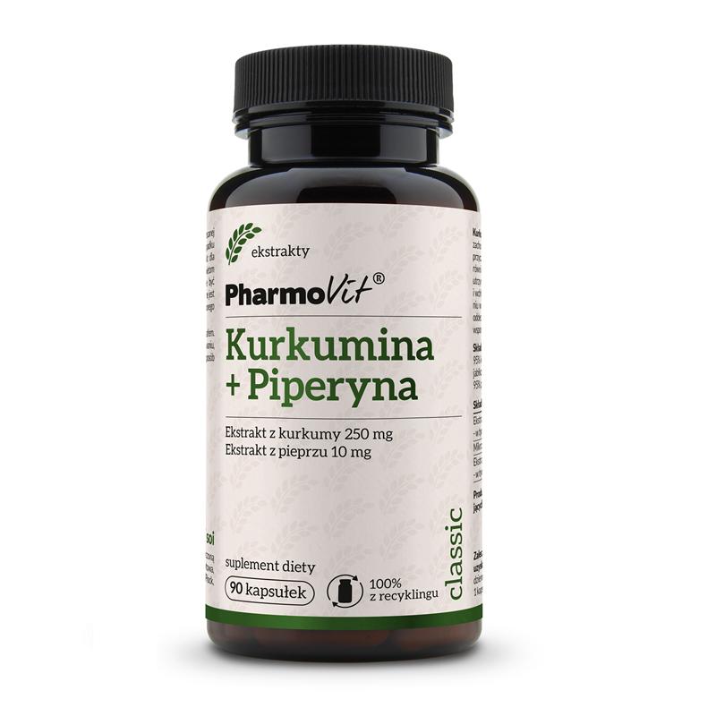 Pharmovit Kurkumina + piperyna