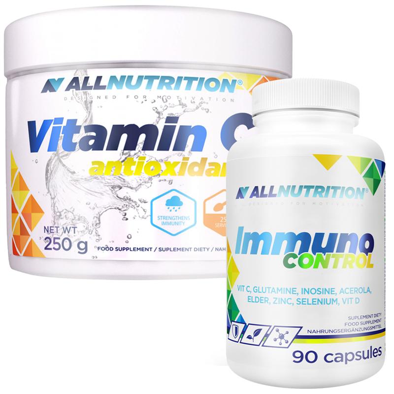 ALLNUTRITION Immuno Control 90kap + Vitamina C 250g GRATIS