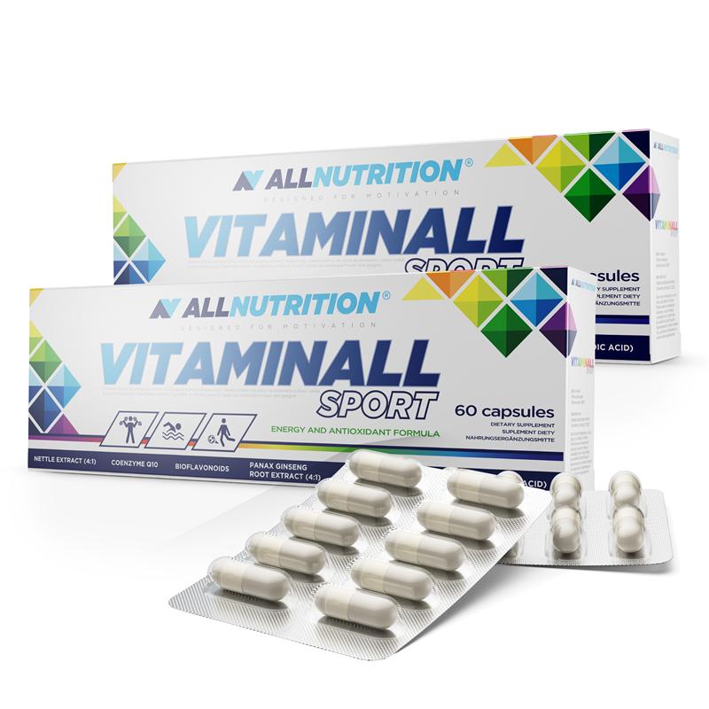 ALLNUTRITION 2x VitaminALL Sport 60caps