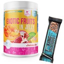 ALLNUTRITION Exotic Fruits In Jelly 1000g + Fitking Delicious Protein Bar 55g GRATIS ()