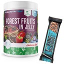 ALLNUTRITION Forest Fruits In Jelly 1000g + Fitking Delicious Protein Bar 55g GRATIS ()