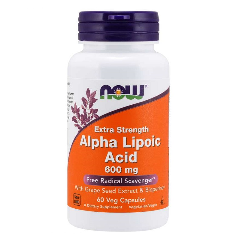 Now Alpha Lipoic Acid Extra Strength