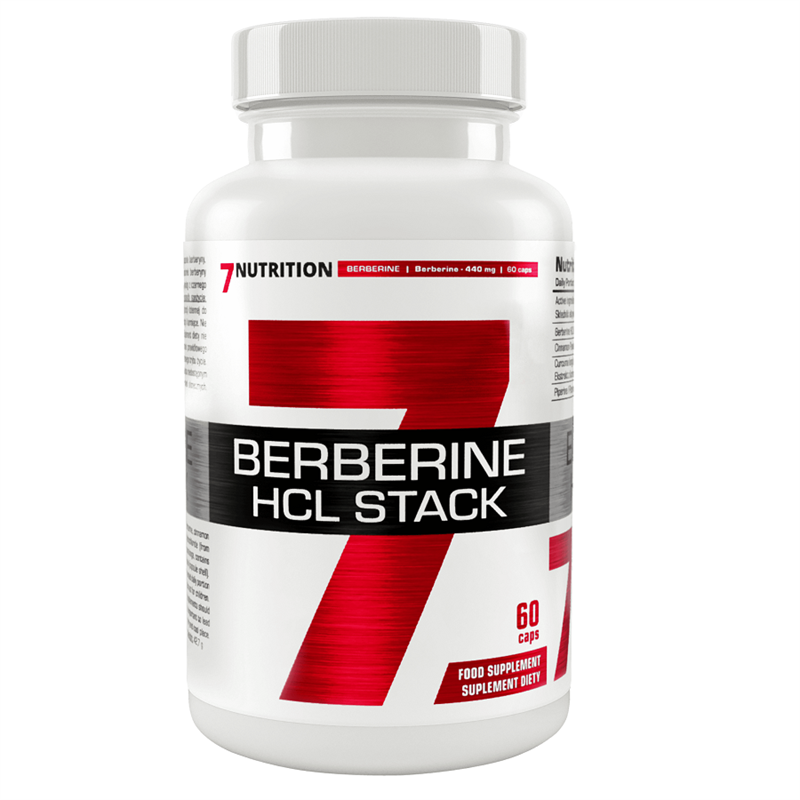 7Nutrition Berberine HCL Stack