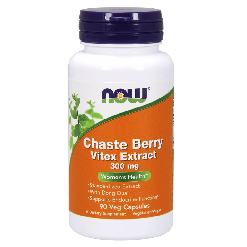Now Chaste Berry Vitex Extract