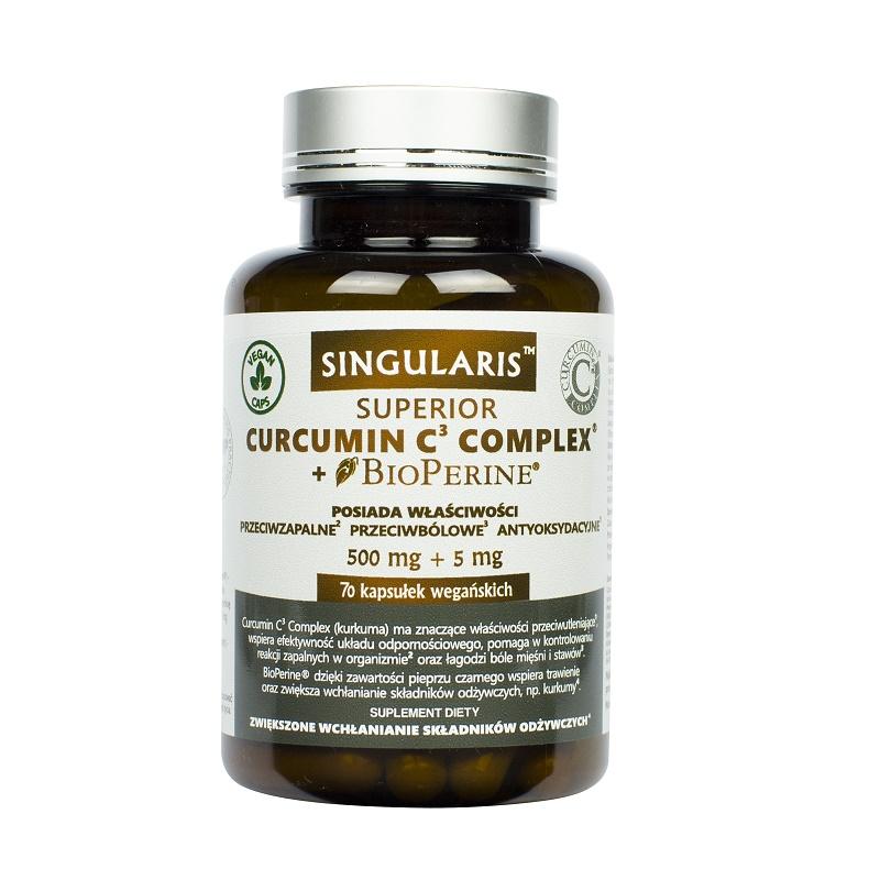 Singularis Curcumin C3 Complex + Bioperine