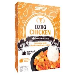 Dziki Chicken - Kurczak w sosie słodko-kwaśnym z ryżem