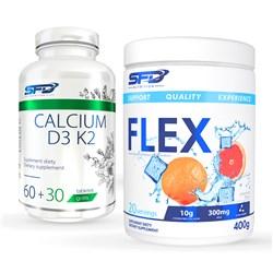Flex 400g + Calcium D3 K2 90tab