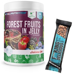 Forest Fruits In Jelly 1000g + F**king Delicious Protein Bar 55g GRATIS