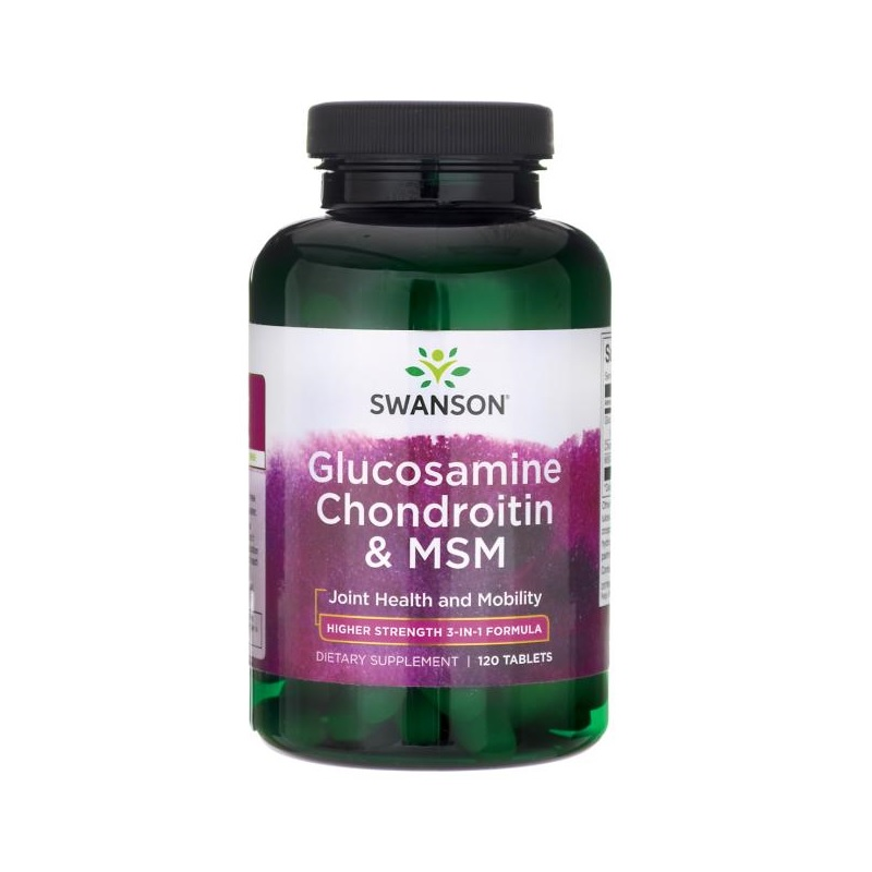 Swanson Glucosamine, Chondroitin & MSM Higher Strength