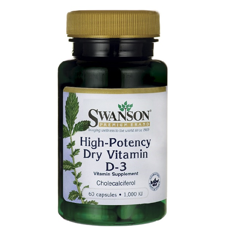 Swanson High-Potency Dry Vitamin D-3