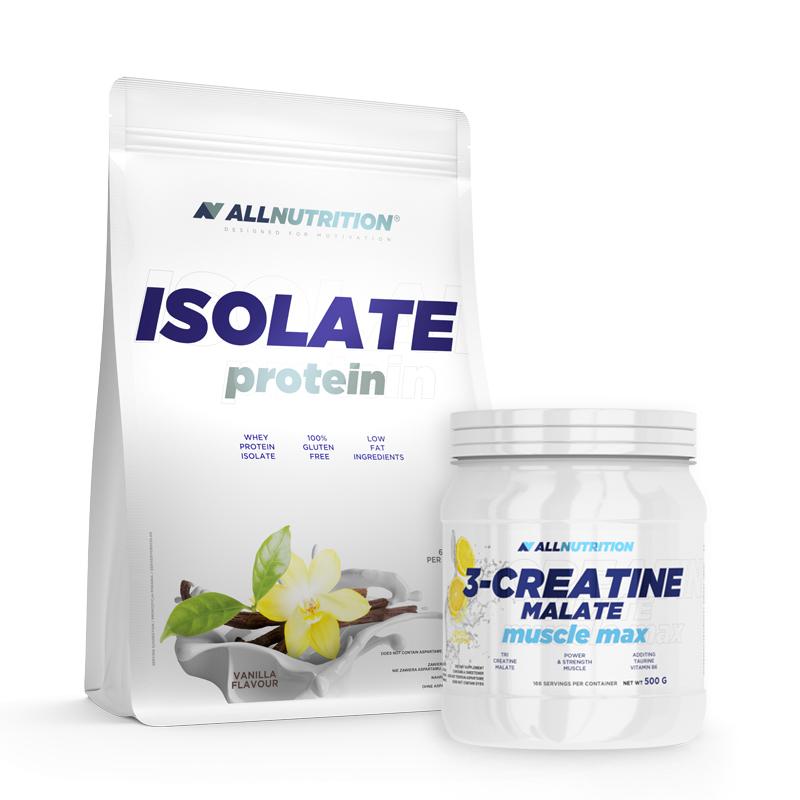 ALLNUTRITION Isolate Protein + 3 Creatine Malate
