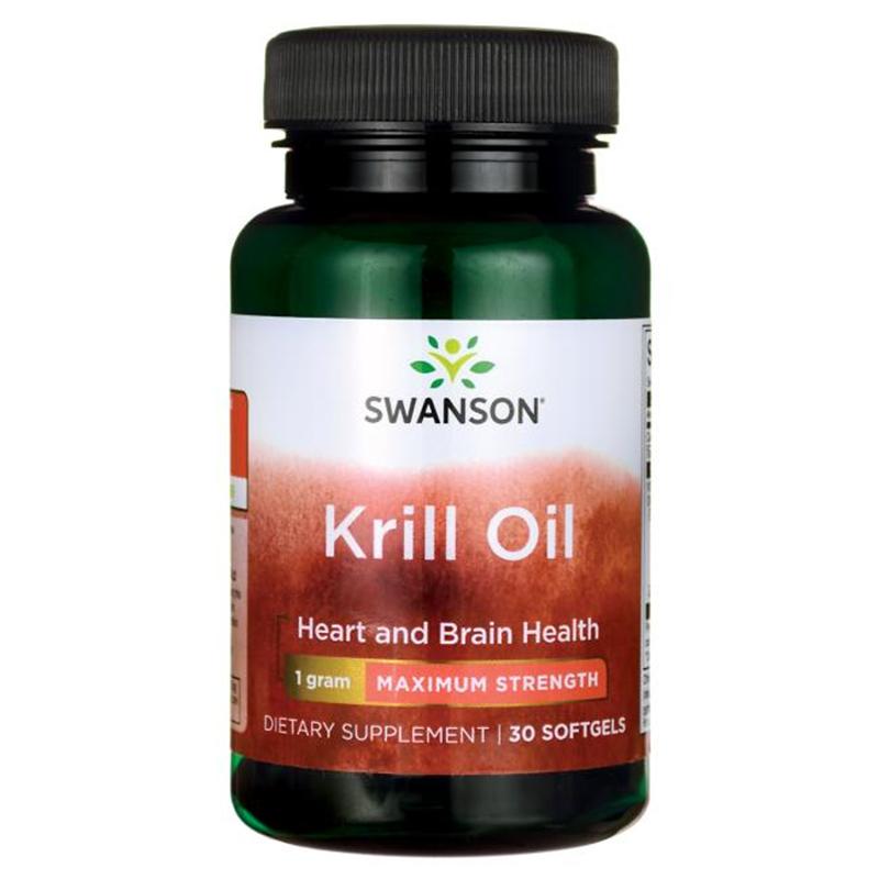 Swanson Krill Oil - Maximum Strength