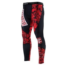Legginsy Męskie Red Warrior Black
