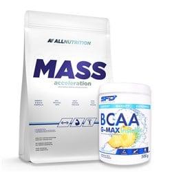 Mass Acceleration 3000g + BCAA G-MAX Instant 500g