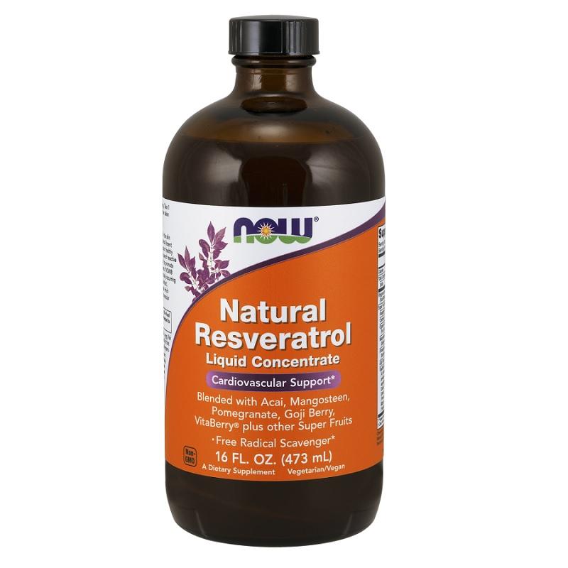 Now Natural Resveratrol Liquid