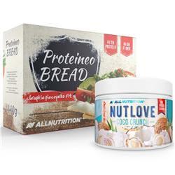 Nutlove Coco Crunch 500g + Proteineo Bread 110g GRATIS