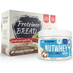 Nutwhey Coconut White 500g +  Proteineo Bread 110g GRATIS