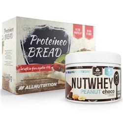 Nutwhey Peanut Choco 500g + Proteineo Bread 110g GRATIS