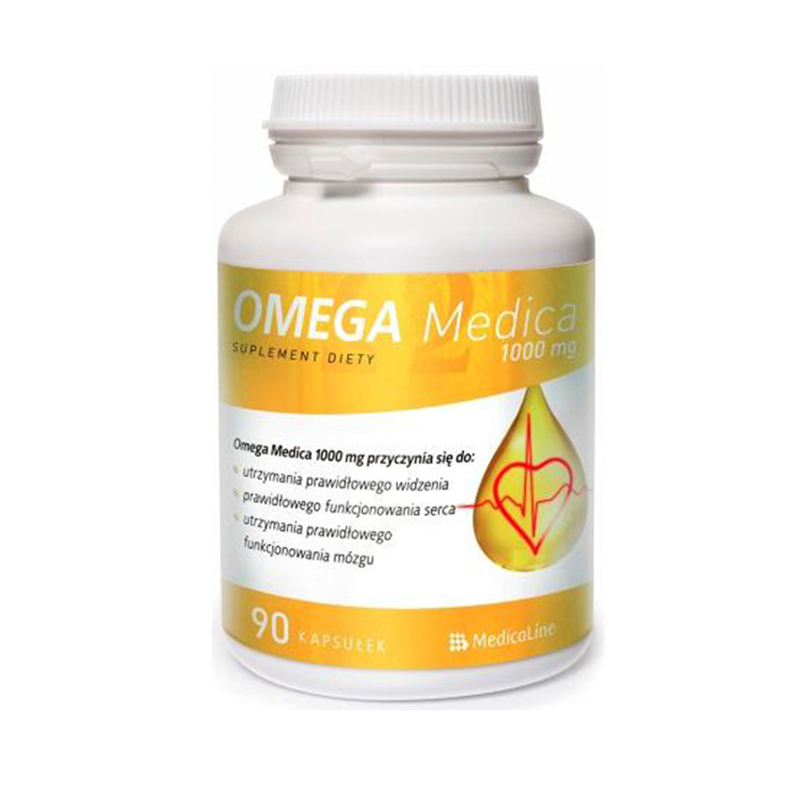 Medicaline Omega Medica 1000mg  z Wit.E