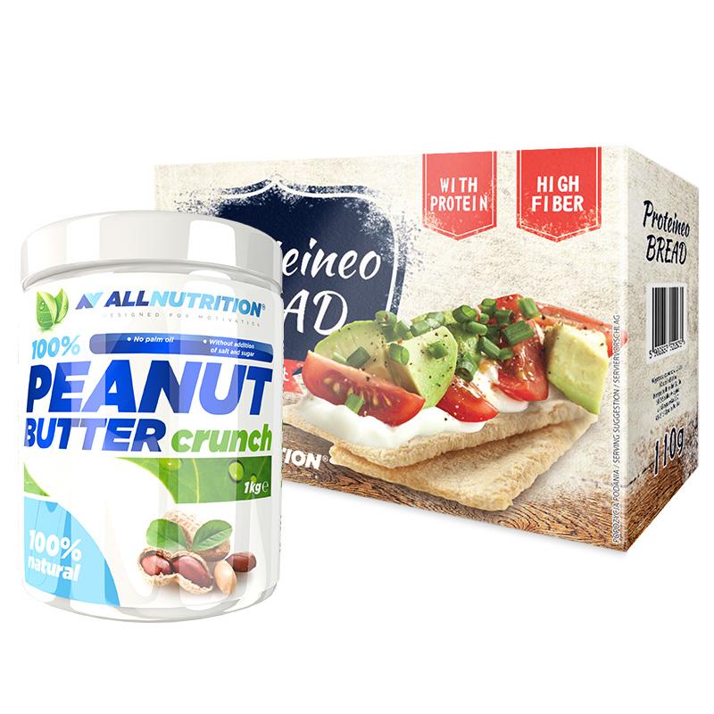 ALLNUTRITION Peanut Butter+Proteineo Bread