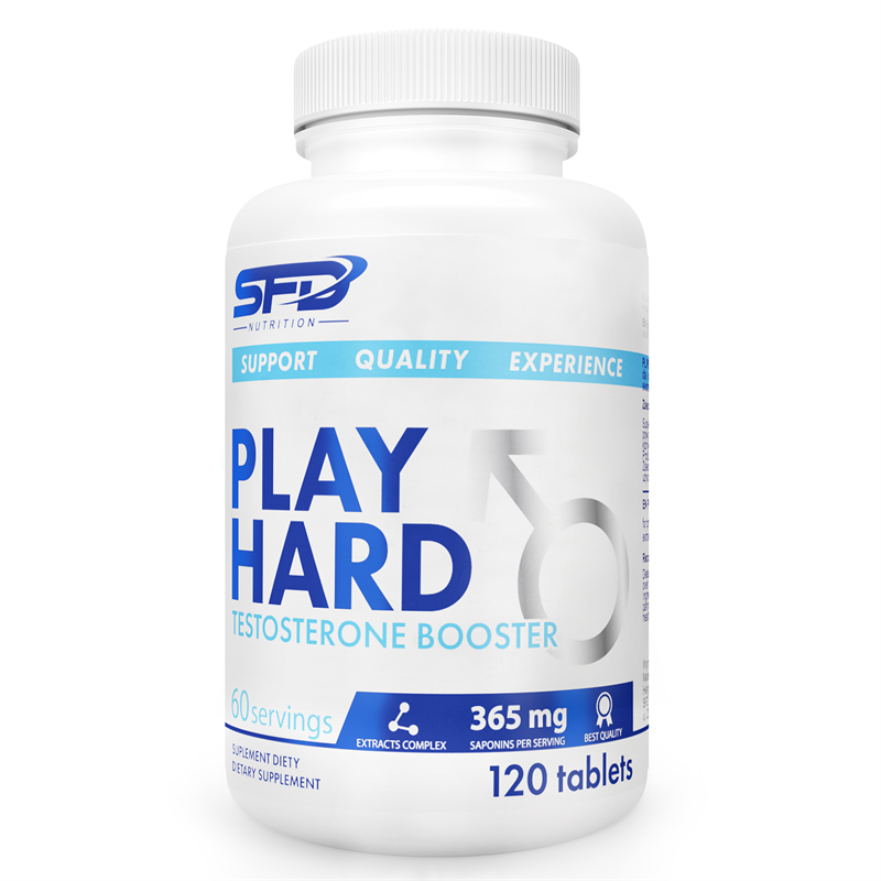 SFD NUTRITION Play Hard Testosterone Booster
