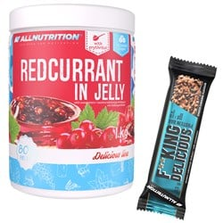 Redcurrant in Jelly 1000g + F**king Delicious Protein Bar 55g GRATIS