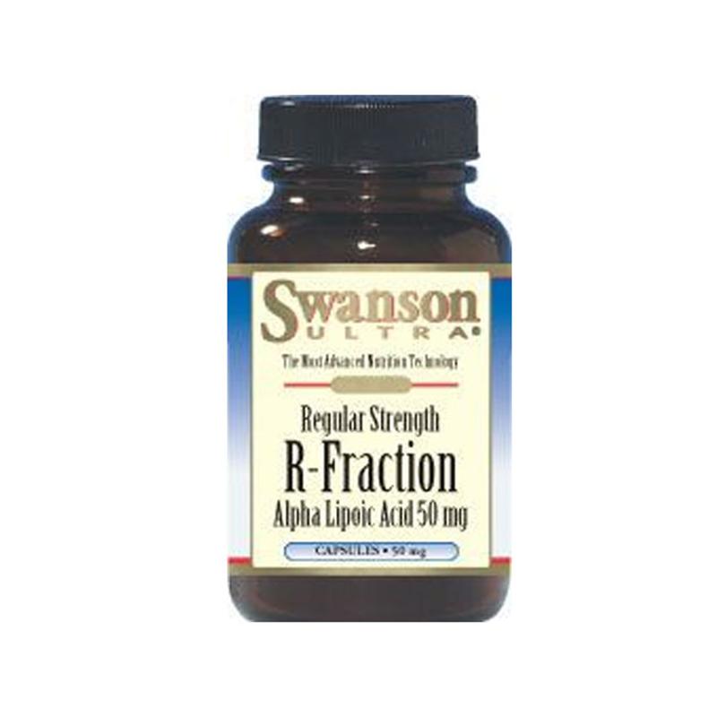Swanson Regular Strength R-Fraction Alpha Lipoic Acid 50mg