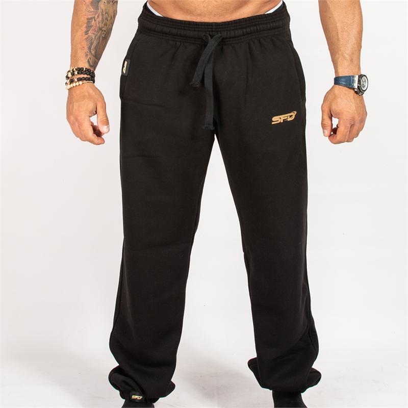 SFD NUTRITION Spodnie Treningowe Czarne