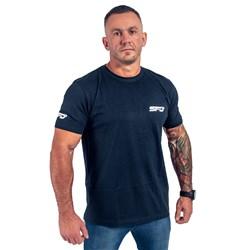 T-Shirt Athletic Granatowy