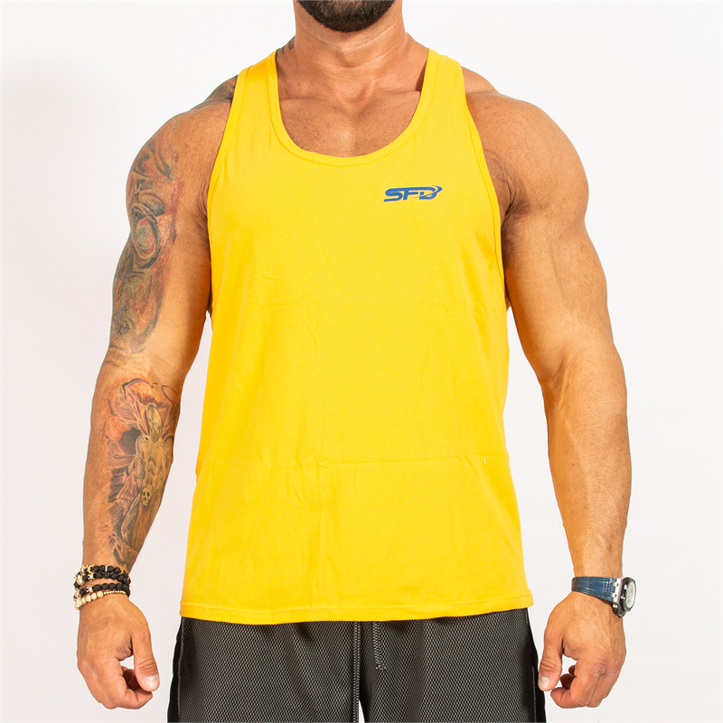 SFD NUTRITION Tank Top Męski Yellow