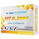 ALLNUTRITION Vit D3 2000 60Softgeles
