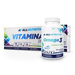 VitaminALL SPORT 60caps + Omega 90softgels