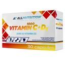 ALLNUTRITION Vitamin C 1000 + D3 30caps
