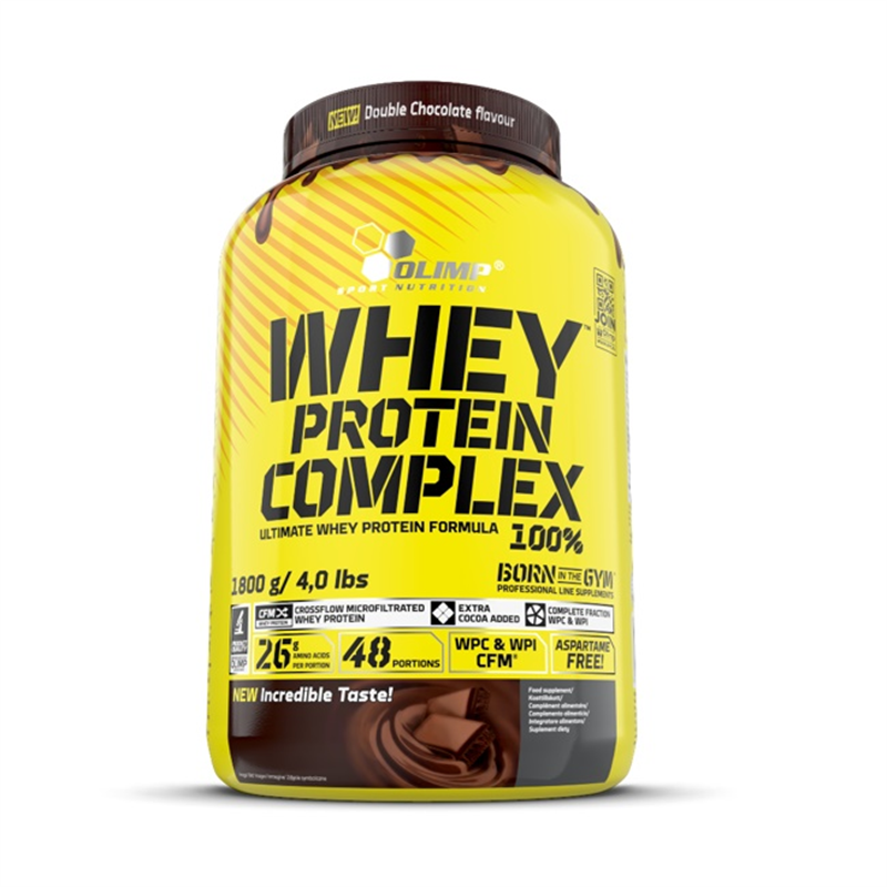 Olimp Whey Protein Complex 100% Double Chocolate